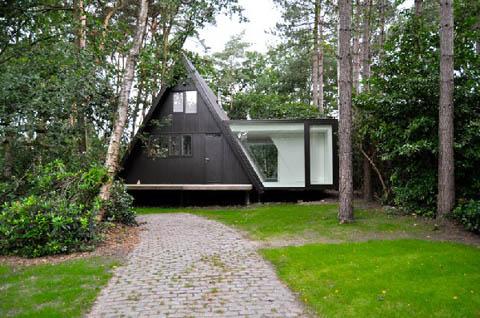 แบบบ้านรีสอร์ทขนาดเล็ก แบบบ้านไม้รีสอร์ทขนาดเล็ก เหมาะสมกับการนำไปสร้างที่พักผ่อน