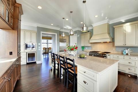 แบบห้องครัวเคาเตอร์ห้องครัว การออกแบบห้องครัวให้สวยและขาวสะอาดไม่เหมือนใคร