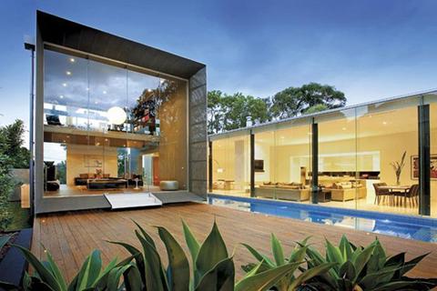 แบบบ้านชั้นเดียวใน Style Modern แบบบ้านชั้นเดียวยกสูงแบบโมเดิร์นสวย ๆ