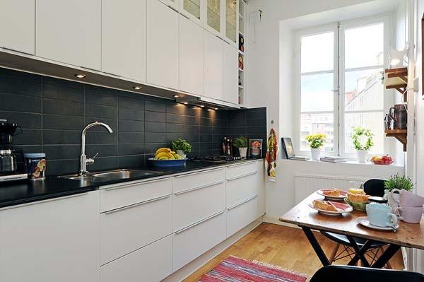 ตกแต่งห้องครัวขนาดเล็ก  ชุดที่3