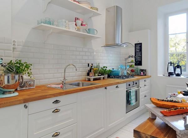 ตกแต่งห้องครัวขนาดเล็ก ชุดที่1