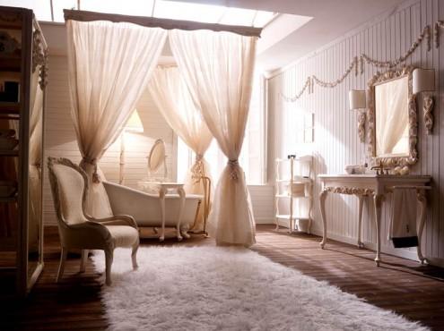 ห้องน้ำแบบคลาสสิกในสไตน์อิตาเลียน