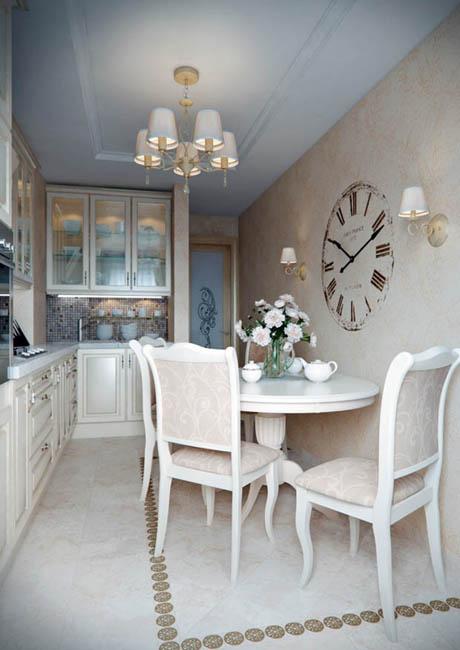 แบบห้องครัวขนาดเล็กๆ แต่สวยหรูหราน่ารัก