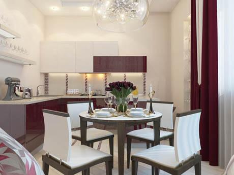 แบบห้องครัวสวย ดีไซน์หรูหรา