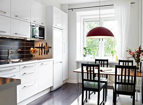 แบบห้องครัว ขนาดเล็กๆแต่ดีไซน์ได้สวยทันสมัย