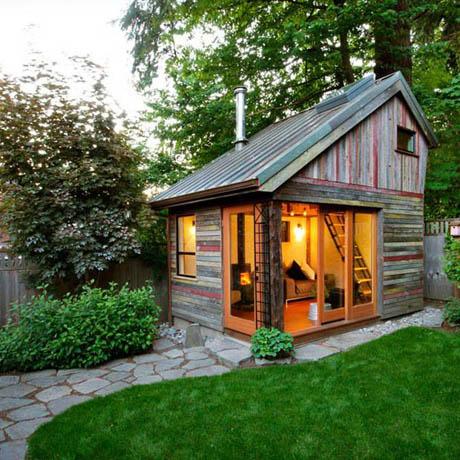 แบบบ้านไม้ ขนาดเล็กน่าอยู่