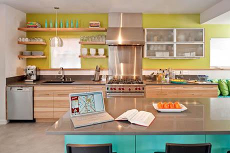 แบบห้องครัว สไตล์เก๋สีธรรมชาติน่าอยู่มากๆ