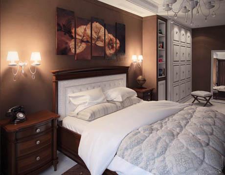 ห้องนอน ที่แสดงถึงความอบอุ่นจนจับใจ