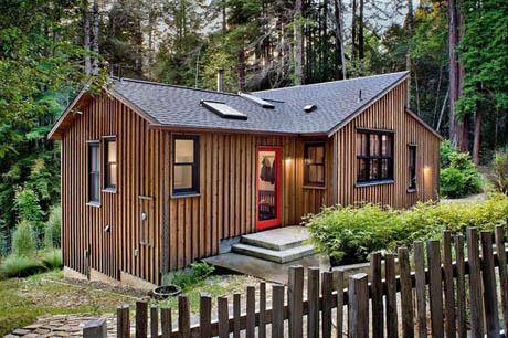 แบบบ้านสวย บ้านเล็กอยู่ท่ามกลางธรรมชาติ