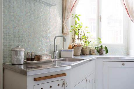 แบบห้องครัว ขนาดเล็กๆสไตล์เรียบง่าย