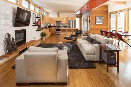 แบบบ้านไม้สองชั้น ออกแบบได้สวยงามอยู่แล้วสบายๆ