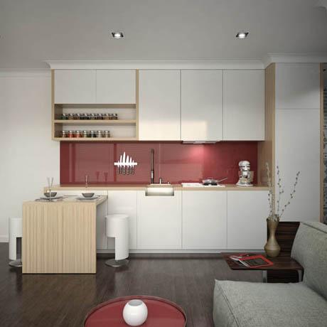 ออกแบบห้องครัว สไตล์เก๋ๆน่ารักๆ