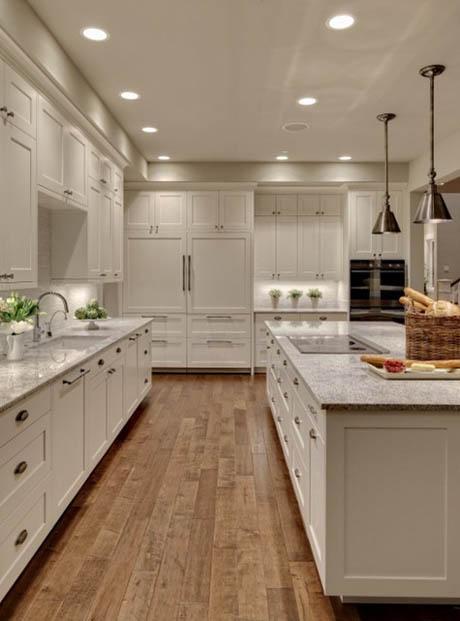 แบบห้องครัว สวยในโทนสีขาวบริสุทธ์