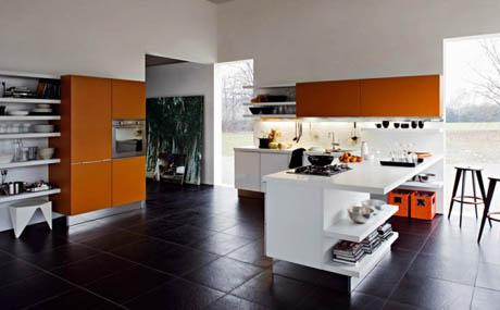 แบบห้องครัว สไตล์เรียบง่ายแต่ทันสมัย