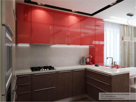 แบบห้องครัว ดีไซน์น่าอยู่ด้วยสีสันสดใส