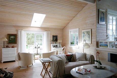 แบบบ้านไม้ ในทุ่งหญ้า สวยที่สุด