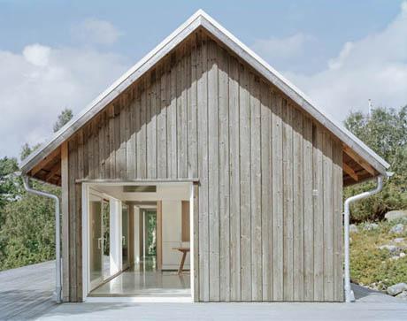 แบบบ้านชั้นเดียว บ้านสีขาว เย็นสบายตา