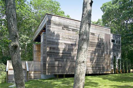 แบบบ้านไม้ รูปทรง โมเดิร์น