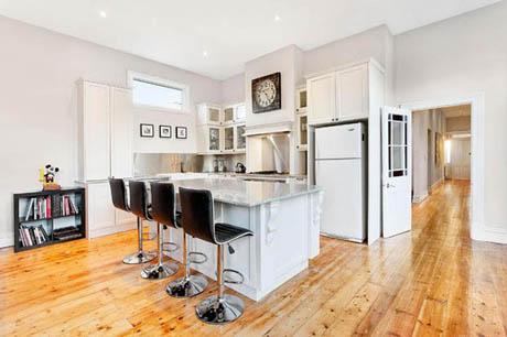 แบบบ้านชั้นเดียว สีขาวสะอาด