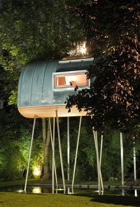 แบบบ้านไม้ ยกสูง ป้องกันน้ำท่วม