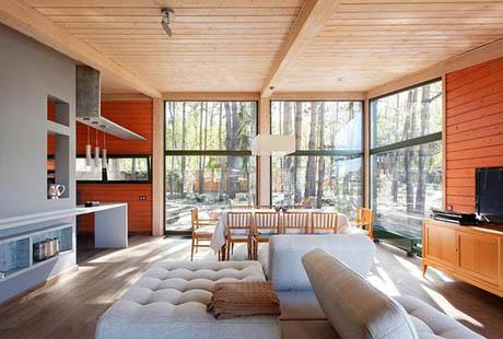 แบบบ้านไม้ บรรยากาศดีเย็นสบาย