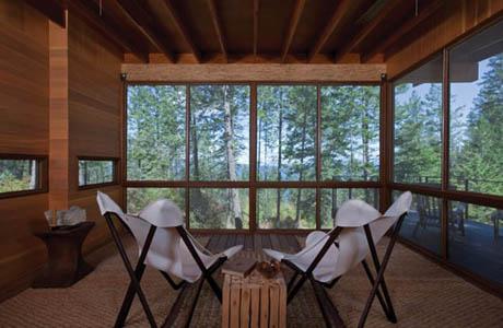 แบบบ้านไม้ ยกพื้นสูง อยู่ท่ามกลางธรรมชาติ