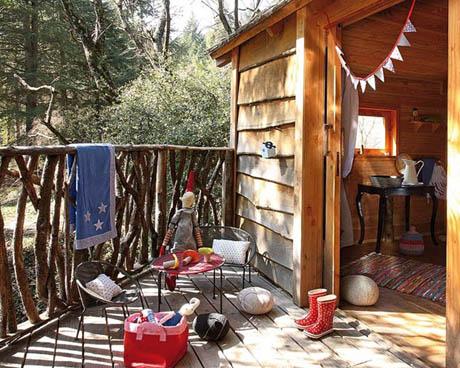แบบบ้านไม้ บ้านต้นไม้ เล็ก ๆ